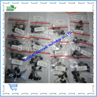 assorted transistors - S9012 S9013 S9014 A1015 C1815 S8050 S8550 N3904 N3906 A42 A92 A733 valuesX20pcs Transistor Assorted Kit