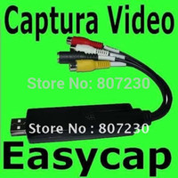 audio capture device - Easycap NEW EASY CAP USB RCA S VIDEO AUDIO AV CAPTURE DEVICE SHIPPING Tarjeta Capturadora Usb Rca S video Audio Video