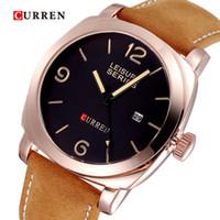logo design - Brand Curren Watch Men Fashion Design Men s Luxury Logo Watch Quartz Watches Movement of Military Wrist Watch