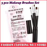 elf makeup - New Set Makeup Pincel Elf Eyeliner Brushes Cosmetic Make Up Contour Hair Brushes Pinceau Tools