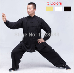 Wholesale New Women Men s Kung Fu Suit Uniforms With Shirt And Pants Shaolin Kung Fu Clothestoycity