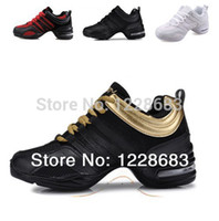 Wholesale New Colorful Black Gold Red White High Heel Sneaker Women s Sports Shoes Line Dance Sneakers With Air Cushiontoycity