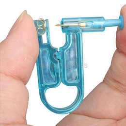 Wholesale Disposable Safety Ear Piercing Gun Unit Tool With Ear Stud Asepsis Pierce Kit hv
