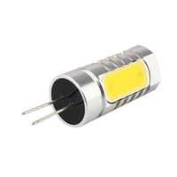 Wholesale G6 GY6 Bin Pin base W LED High Power Light Bulb DC V SSY WW