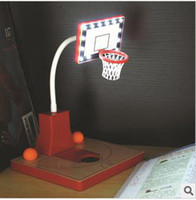 Wholesale new arrival eco friendly Rechargeable LED lamp DIY flexibale sport basketball lamp novelty gift for friends