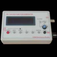 Wholesale LCD1602 Hz KHz DDS Function Signal Generator Module Sine Square Wave case