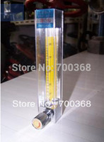air flow rotameter - LZB glass rotameter water flow meter with adjust control valve liquid flow meter air flow meter