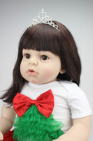 Unisex reborn baby toddler dolls - NEW hotsale lifelike reborn toddler doll baby dolls fashion frozen doll Christmas gift real touch doll
