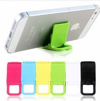Wholesale chairs Mobile phone generic colored small plastic bracket Phone holder