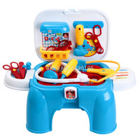 Cheap Simple Package xc361 Mini Dentist Doctor Toys Pretend Play House Simulational Kids Outdoor Fun Chrismas Gift Free Shippingtoycity