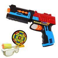 Wholesale Simple Pack xh029 Mini Plastic Pistol Soft Bullet Nerf Gun Arma Toy CS Game Minecraft Shooting Toy Gun Airgun Pressure Revolvertoycity