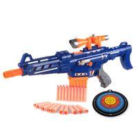 Wholesale Simple Packet Plastic Pistol Soft Bullet Nerf Gun Arma Toys CS Game Shooting Toy Gun Airgun Revolver Chrismas Gift for Kidstoycity