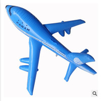 Wholesale Large inflatable aircraft simulation model airplane toy plane decoration aircraft CM