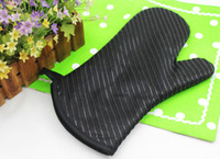 kitchen oven gloves - Silicone Oven mitts microwave gloves striped Kitchen Oven gloves cooking tools bakeware barbecue Mitts pc