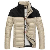 brand winter jacket for men - High Quality New Winter Coat Brand Fashion Man Outdoors Hiking Down Jacket Men Sport Cotton Parkas Casual Coats Outwear For Men