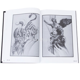 Wholesale New Brand New Tattoo Supplies Reference Book Picture Instruction Sheet Flash Art European Figure