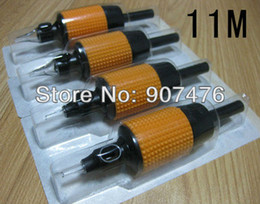 Wholesale Disposable Plastic Tattoo Grips Tubes For Flat For Tattoo Supplies