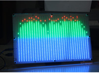 Wholesale RGB LED Audio Digital Level Meter display Spectrum Analyzer for home amplifer