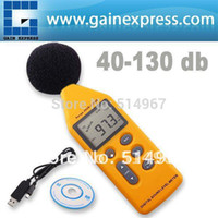 Wholesale Professional Handheld Range Digital Sound Noise Level Meter with Analog Signal Output amp USB Port dB Decibel