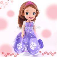 Cheap Wholesale-2015 Bonecas 1pcs lot Fairy Toys 12 Inches Princess Sofia Dolls New Year Gift Animators Juguetes Princesas Brinquedos