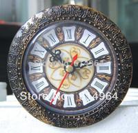 Clock Parts - New Insert clock clock head mm B clock parts Roma number decorative border antique looking