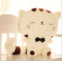onigiri - cm Onigiri Cat Stuffed Lucky Cat Doll Happy Cat Plush Toys And Gifts Life Size Cat Toys Plush Cartoontoycity