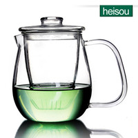 Cheap Wholesale-heisou glass teapot high temperature resistant filter tea cup heating bubble flower teapot tea tea machine KC156