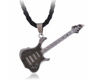 copper alloy - stainless steel plating rock guitar necklace copper alloy necklace