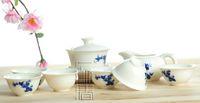 porcelain teapot white - Delicate Tea Set Qinghua Teapot Blue and White Porcelain Teaset A3TQ10