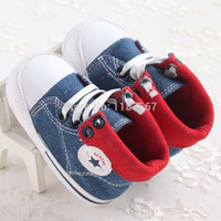 wholesale infant shoes - new born canvas baby boys shoes sneakers newborn chit sapato infant shoes soft First walker Kids shoes