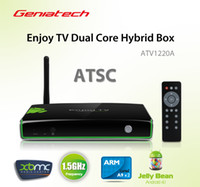 atsc tv receivers - pre sale Geniatech ATV1220 TV Box Built in ATSC digital TV Tuner receiver Dual Core Hybrid Android Google tv P XBMC