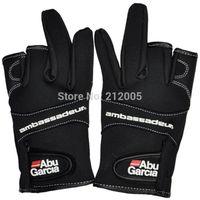 Wholesale Abu Garcia Cut Finger Fishing Gloves Waterproof hunting gloves