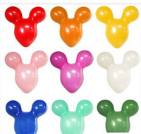 animal shaped balloons - Mickey Mouse shape latex balloons Animal balloon for party decoration Toy party wedding birthday