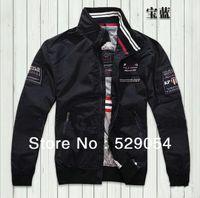 Wholesale New Fashion Men Autumn Winter Skark Long Sleeve Thin Coat Men s Jacket Leisure Blouse Brand