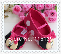 mothercare - Hot Sale Special Offer Buckle Animal Prints Baby Girl Fashion New Mothercare Shoes Back Baby Girls Minnie Cartoon Infant