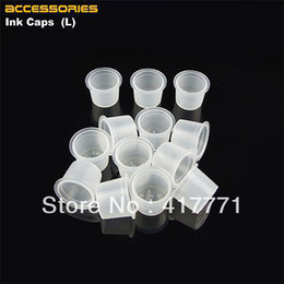 Wholesale mm Large Size Plastic Disposable Tattoo Ink Holder Cups Pigment Supplies Permanent Makeup