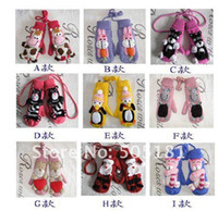 Wholesale pair D cartoon knitted gloves cute gloves Winter lady add thick wool cloth with soft nap of gloves