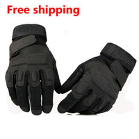 Wholesale The Black Hawk American Special Forces soldiers tactical gloves outdoor fans antiskid riding gloves fighting all
