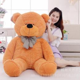 Wholesale Teddy Bear Skin DHL free white black bown pink purple yellow cm bear skin eye safe