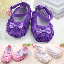 Wholesale New Festival flower years newly born infant baby girls first walkers kid baby jane shoes Hot Free amp amp Drop Shipping