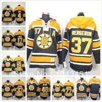 nhl jersey - NHL Hoodies Bobby Orr Black Home C Patch Fleece Ice hockey Hoodie Jersey Lucic Hoodie cheap sport suit men