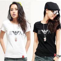 brand fashion t-shirt - New Arrival fashion brand to women t shirt Short High end brands women t shirt T001