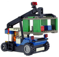 Wholesale Model Building Kits Scale Models Classic Toys Learning Education Toys Building Blocks Crane J5732toycity