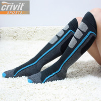 Wholesale Germany Outdoor Sport Ski Socks Men woman Long Thicken Warm Wool Breathable Socks For Snowboard Skiing Cycling Climbing