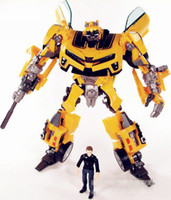 Wholesale Robot Revenge of the Fallen Human Alliance Bumblebee and Sam Action Figures Toys robot action figure cardboard box pack good protection