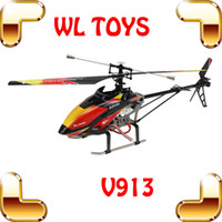 Cheap WLtoys V913 Christmas Gift 80CM Big RC Helicopters Single Blade Remote Control Toys Helicoptero Electronic Toys LCD Controller