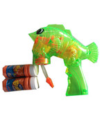 bubble gun - Automatic transparent green children s toys bubble double use mercifully gun for kids to years baby toys HT73500toycity