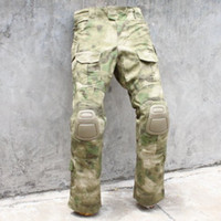 army bdu - Tactical bdu G3 Combat Pants BDU Military Army Pants A TACS FG Knee Pads
