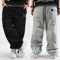 brand trousers - Sport Pants Plus Size Cotton Tracksuit Fashion Men Clothing Rhino Brand Hip Hop Baggy Sweatpants Outdoor Sweat Trousers