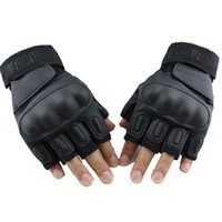 airsoft spring upgrade - Upgrade Blackhawk Knuckle Half Finger Military Tactical Airsoft Shooting Hunting Cycling Motorcycle Paintball Outdoor Gloves Cstoycity